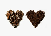 Coffee hearts