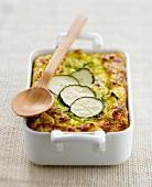 Greek-style zucchini gratin