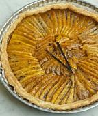 Mango and vanilla tart