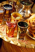 Mint tea and oriental pastries