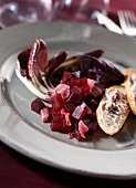 Beetroot and ginger salad