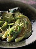 "Eggplants ""à la jade"""
