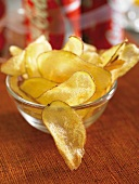 Olive oil-flavored crisps