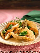 Vegetable and mushroom Empanadas