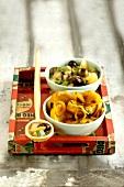 Artichoke and honey Tajine, zucchini, eggplant and confit citrus Tajine