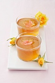 Rose-flavored jelly