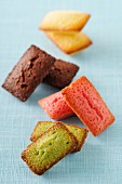 Selection of different flavored Financiers