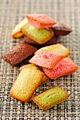 Selection of different-flavored mini Financiers