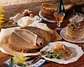 Galette bretonnes (Buchweizenpfannkuchen aus der Bretagne)