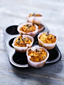 Giraumont pumpkin and orange-flavored muffins
