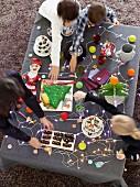 Children's party buffet