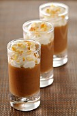 Chestnut cream with whipped cream