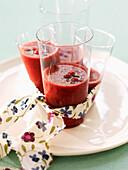 Cranberry smoothie