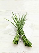 Two bunches of chives