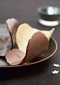 Chocolate tuiles