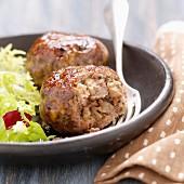 Quercy lamb meatballs