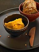 Pureed orange lentils