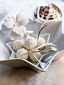 weiße Schoko-Kokos-Trüffel