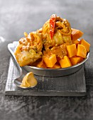 Chicken and sweet potato Mafé