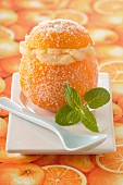 Iced orange