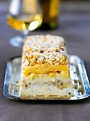 Cheese and hazelnut terrine