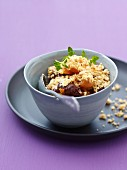 Carrot crumble