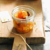 Pumpkin and dried apricot chutney