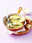 Green asparagus Frittata