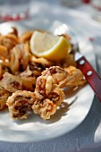Fried calamaries