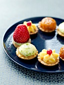 Assorted mini tartlets