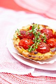 Tomato and thym tartlet