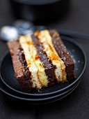 Chocolate and chestnut cream cake