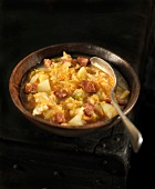 Cabbage and Chorizo soup