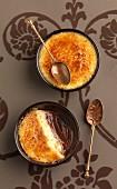 Chocolate and tangerine Crème brûlée