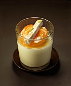 White chocolate mousse ,apricot and nougat