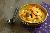 Shrimp and coconut milk curry