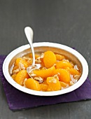 Clementine and walnut fruit salad