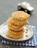 Zitronenplätzchen nach Macaron-Art
