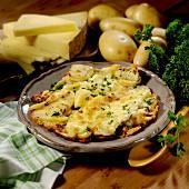 Truffade (Kartoffel-Käse-Pfanne)