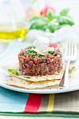 Italian-style tartare