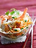 Bo-bun with shrimps