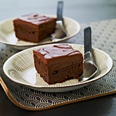 Mascarpone and chocolate cake
