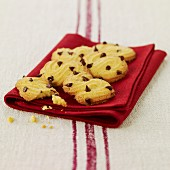 Polenta and chocolate chip cookies