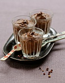 Chocolate mousse with Sechuan pepper