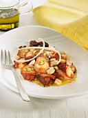 Octopus with French dressing