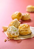 Scone with Fromage frais
