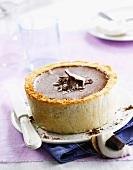 Chocolate and coconut Bavarian