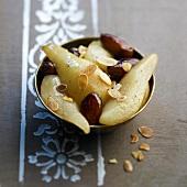 Pear and date Tajine