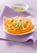 Grated carrot and green papaya salad