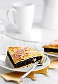 Chocolate-hazelnut Galette des rois